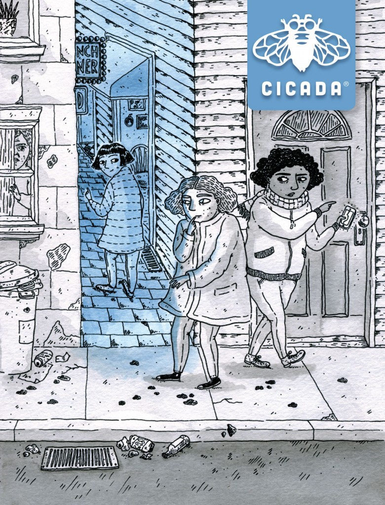 Cicada Magazine for Teens