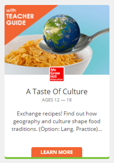 A Taste of Culture Thumbnail