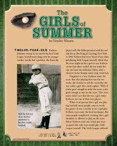 Girls of Summer - Cricket Media