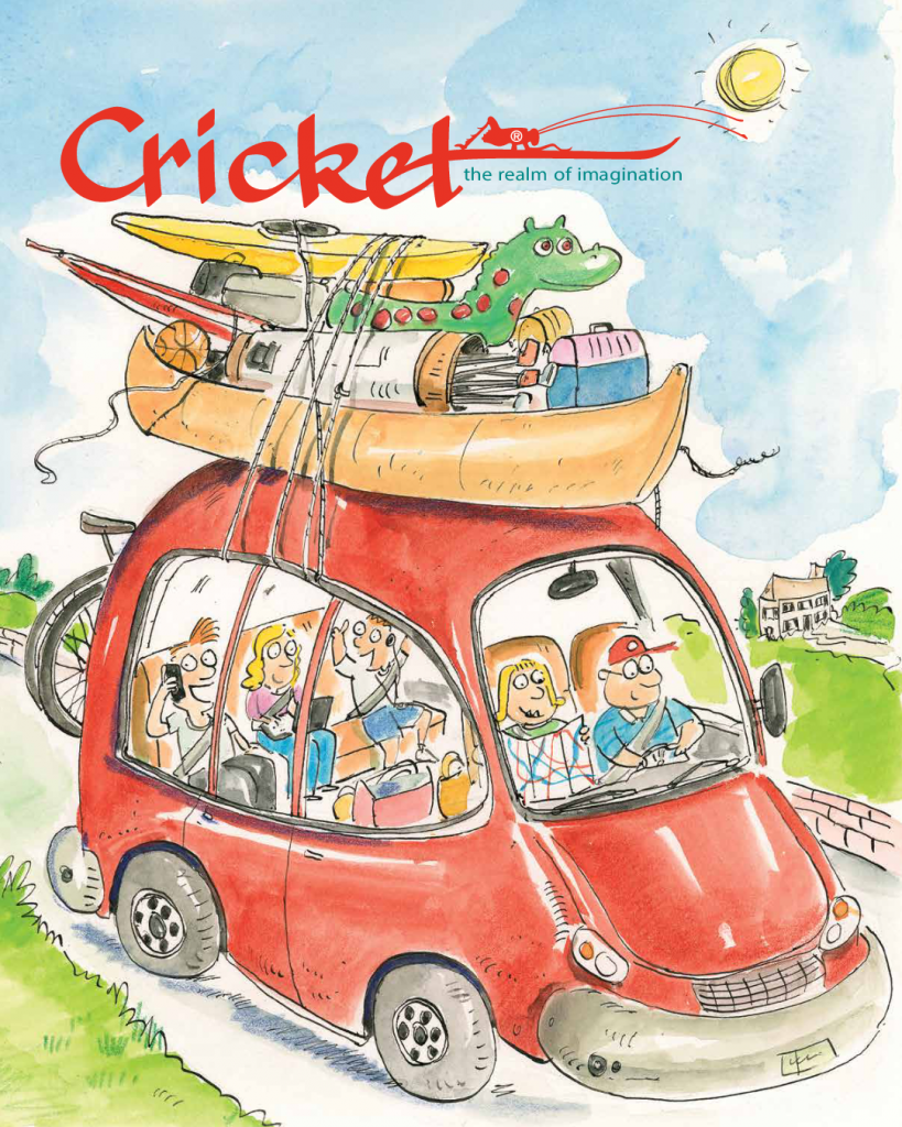 Road Trip Cricket Cover