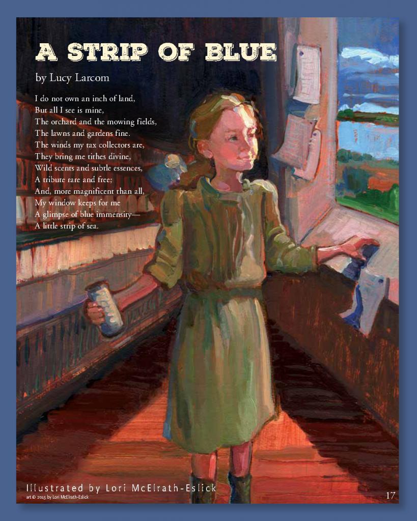"""A Strip of Blue"" - Cricket Magazine"