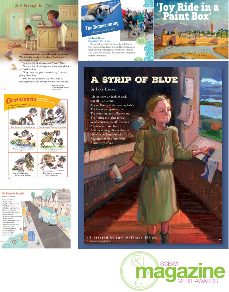 SCBWI 2016 Merit Winners - Cricket Media