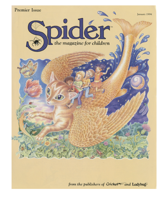 First Spider Magazine Cover