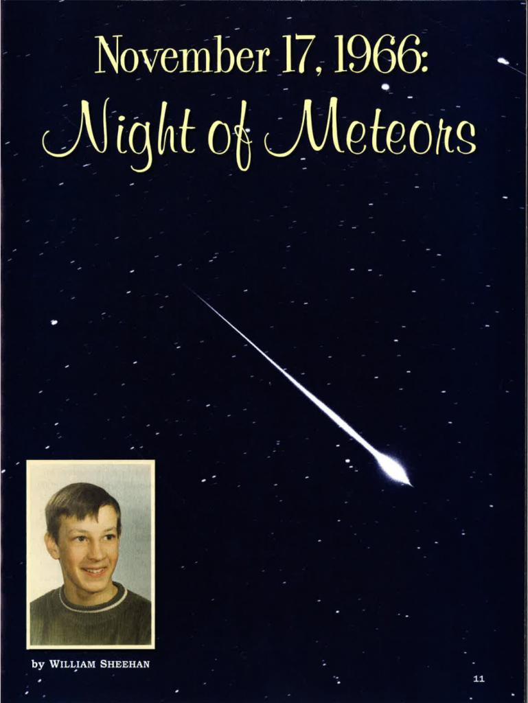 Night of Meteors - Odyssey 2009