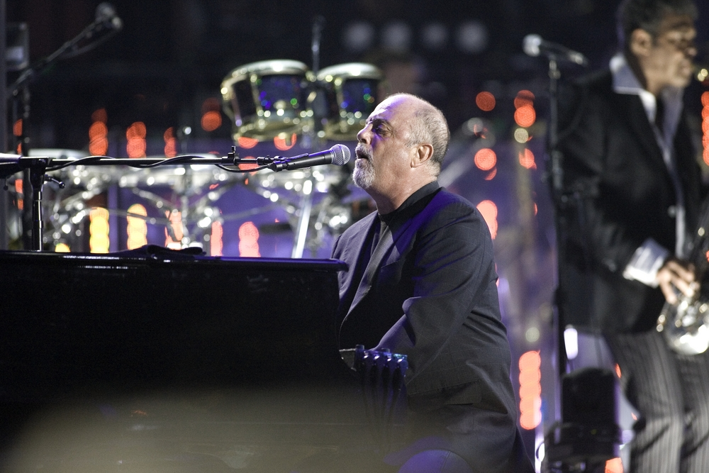 So is singer/songwriter Billy Joel.