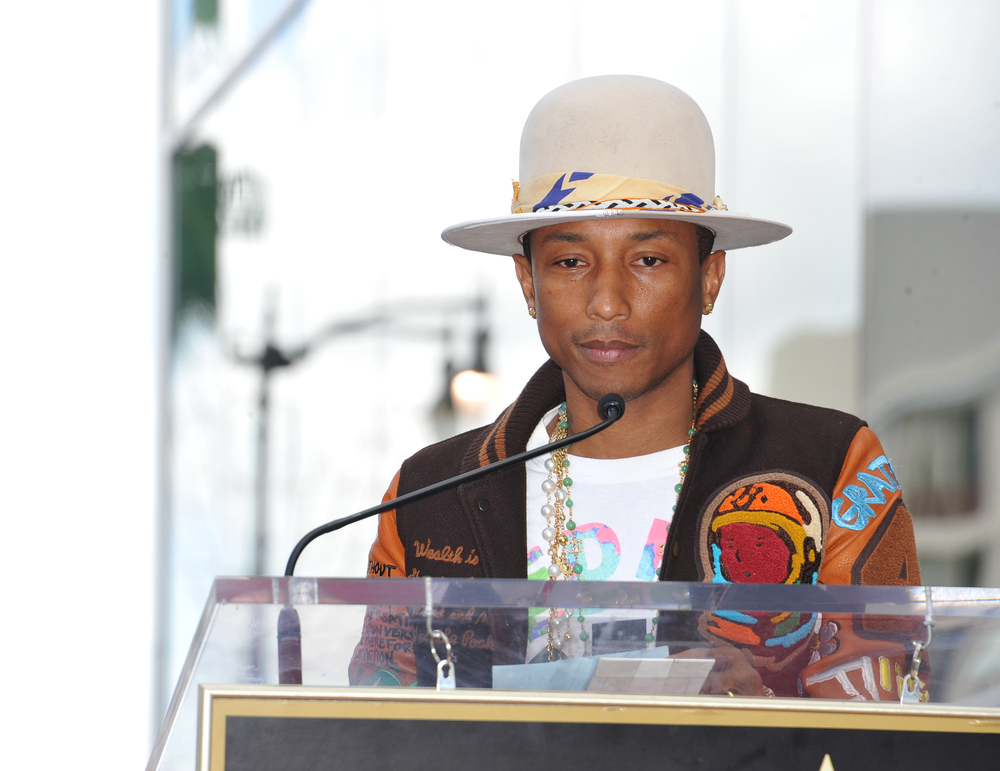 Popular singer/songwriter Pharrell Williams is synesthetic.