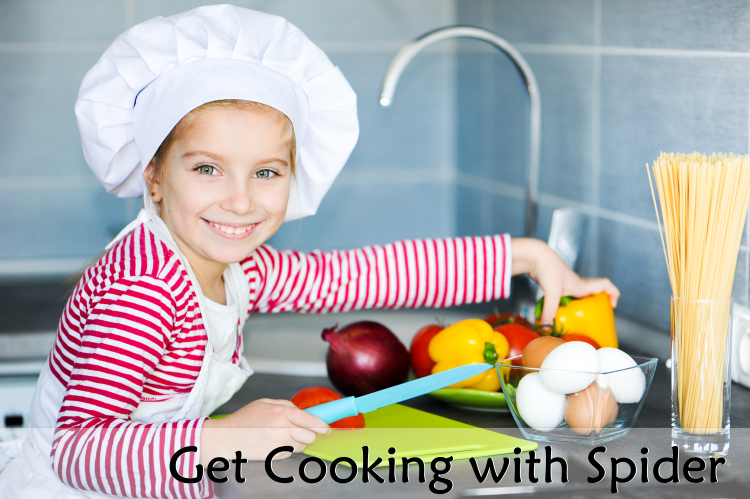 Cooking with Spider - Cricket Media