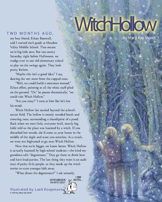 Witch Hollow - Cricket Magazine