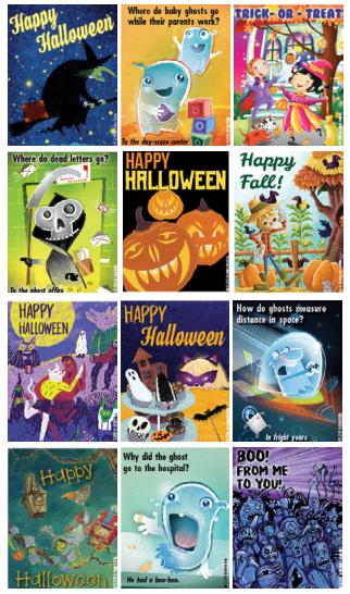 Halloween Printable Cards