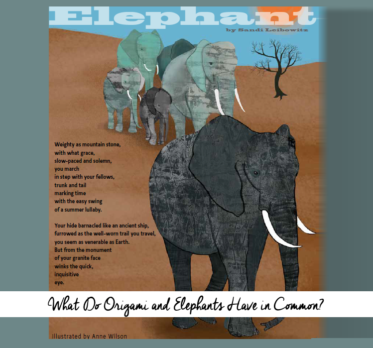 What Do Origami and Elephants Have in Common?