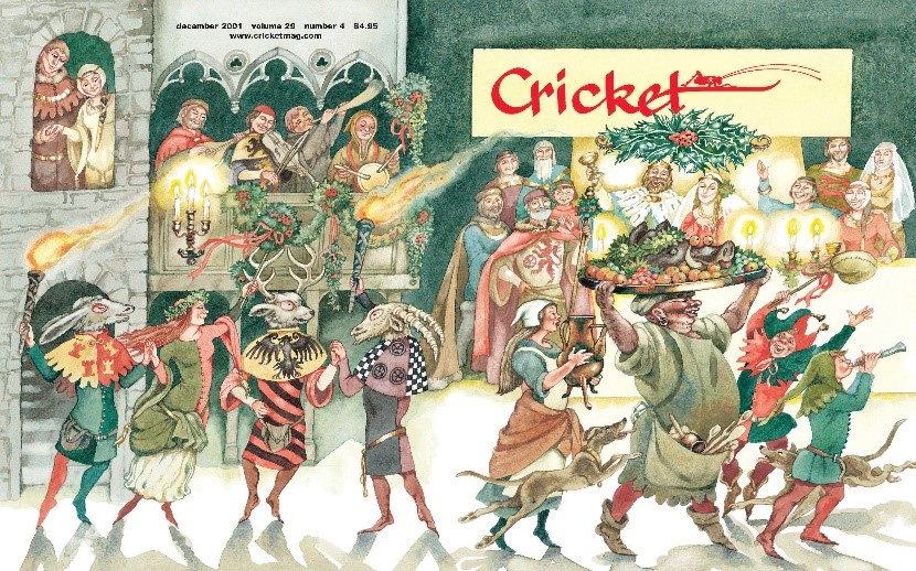 Nothing Says Holidays Like a Vintage Cricket Holiday Cover