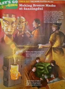Making Bronze Masks