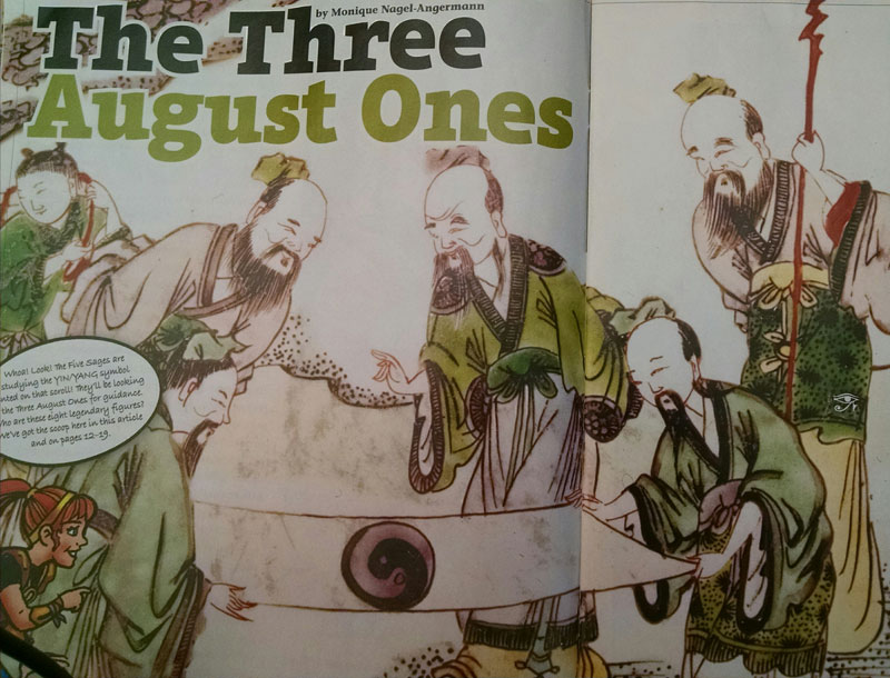The Three August Ones