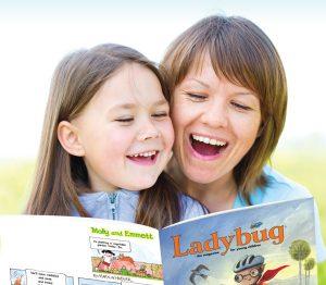 Mom Daughter Ladybug Magazine