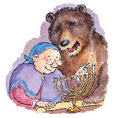 Hanukkah Guest 3