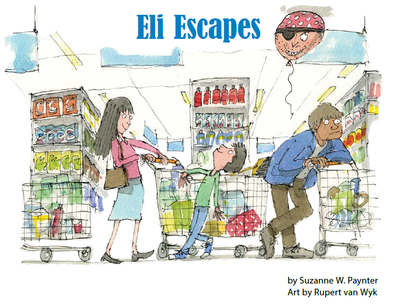 """Eli Escapes"" appeared in the January 2013 issue of Ladybug."