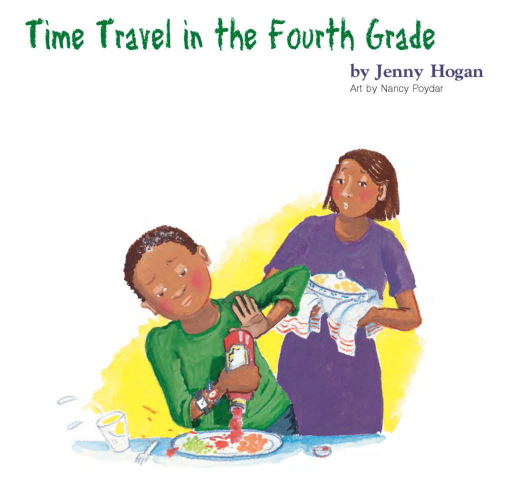 Time Travel in the Fourth Grade - Cricket Media