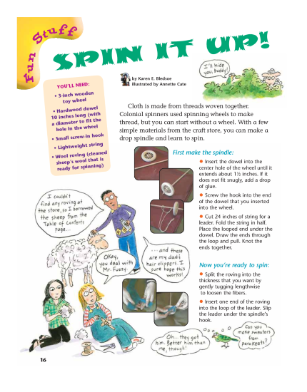 Spin It Activity