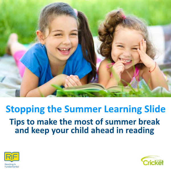 Stopping the Summer learning slide