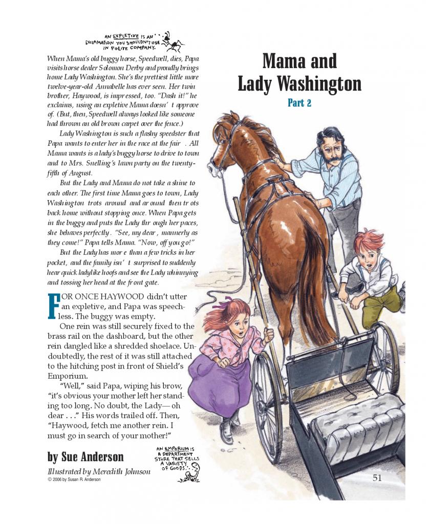 Mama and Lady Washington, Part 2
