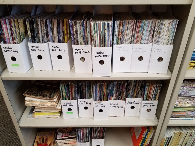 Ways to Build a Classroom Magazine Collection