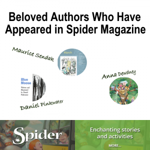 Beloved Children's Book Authors Who Have Appeared in Spider Magazine