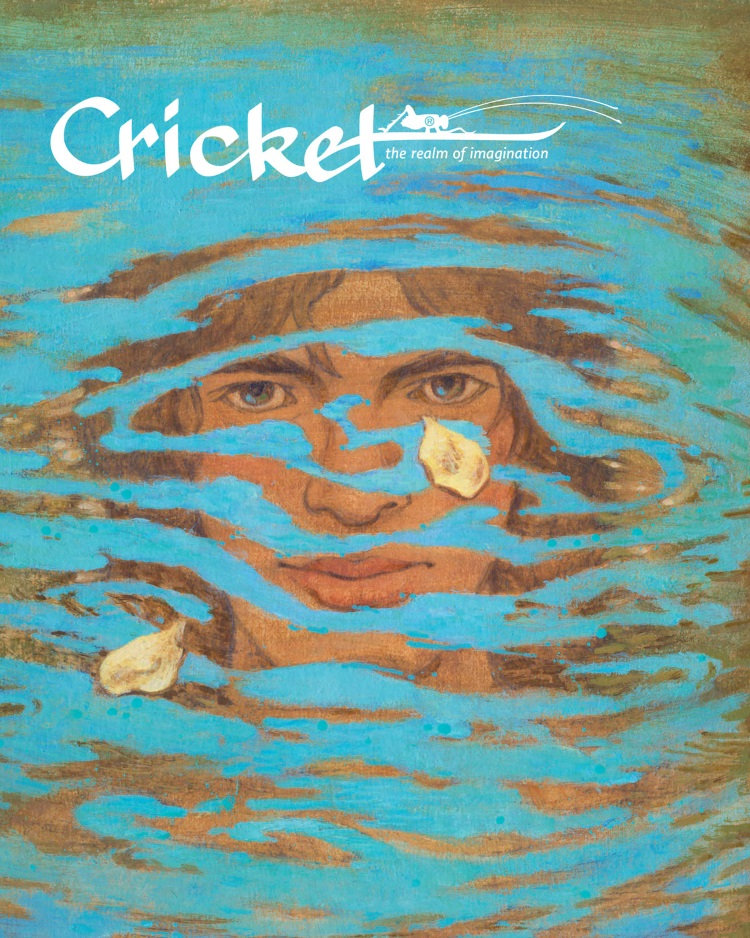Artwork by Troy Howell from the February 2016 cover of CRICKET Magazine
