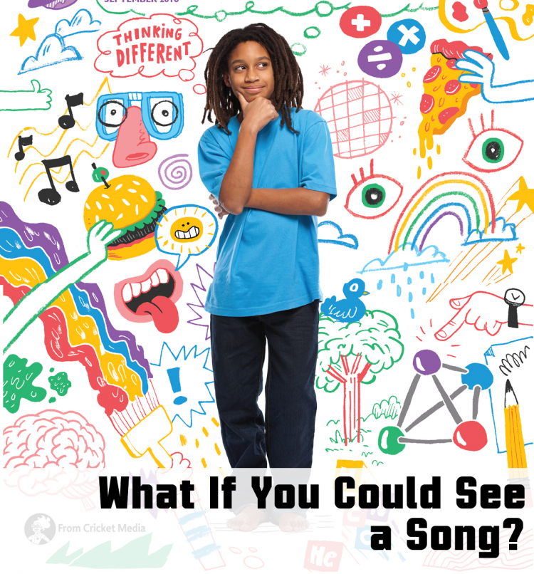 What if you could see a Song? Muse Magazine