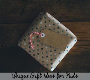 Unique Gift Ideas for Kids - photo by Annie Spratt