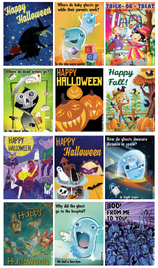 Halloween Printable Cards