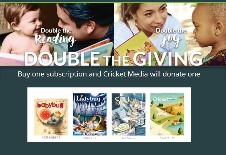 Buy One Donate One - Cricket Media