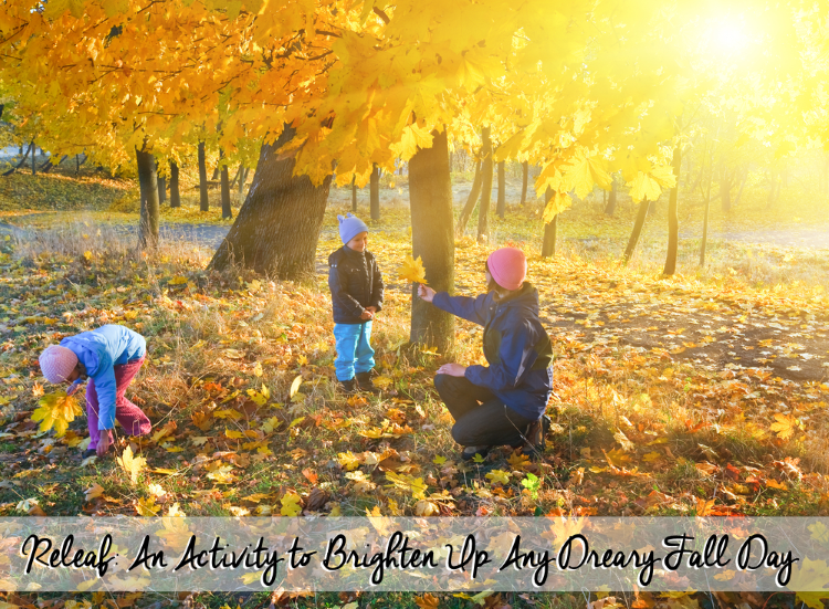 """""""Releaf"""": An Activity to Brighten Up Any Dreary Fall Day"""