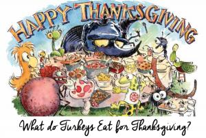 What do Turkeys Eat for Thanksgiving?