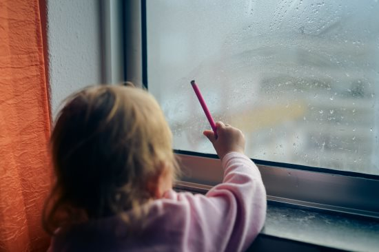 Ice, Ice, Baby: Try this Easy Frosted Window Craft with Your Kids