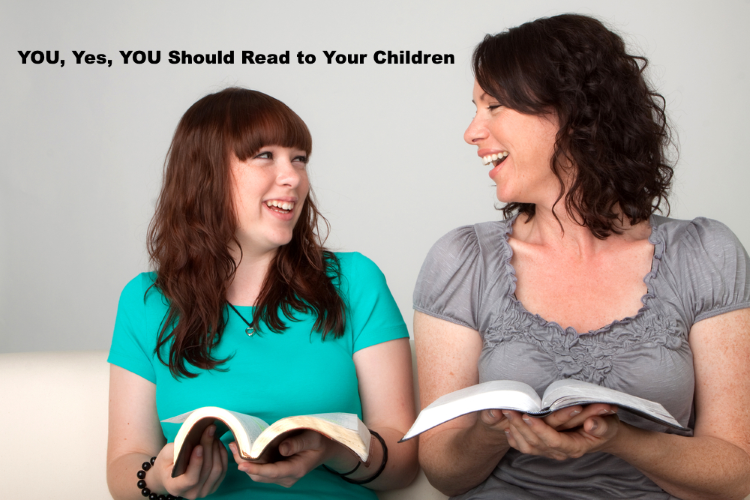 YOU, Yes, YOU Should Read to Your Children