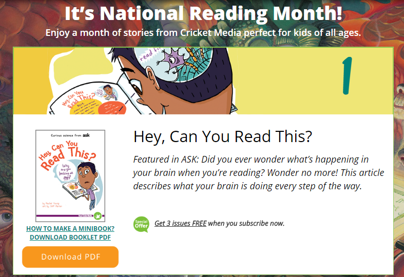 March is National Story Month