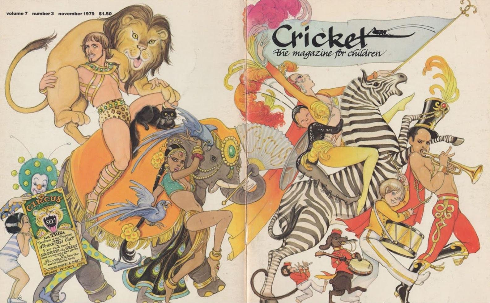 5 Beloved Illustrators Featured in Cricket Magazine