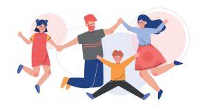 e-Mentors and mentees celebrating