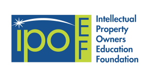 IPOEF logo, Intellectual Property Owners Education Foundation